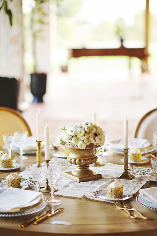 Picture Of organic grecian wedding inspiration with golden touches  7