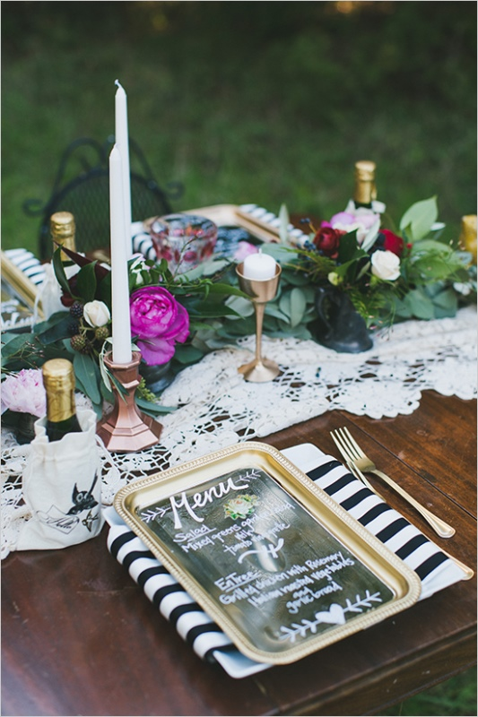 Picture Of organic inspired and free spirited summer garden wedding  11