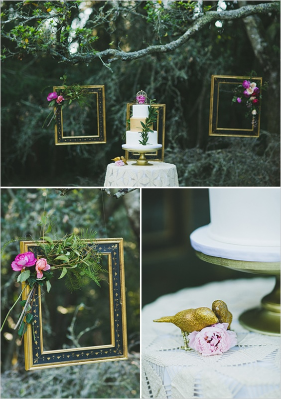 Picture Of organic inspired and free spirited summer garden wedding  12