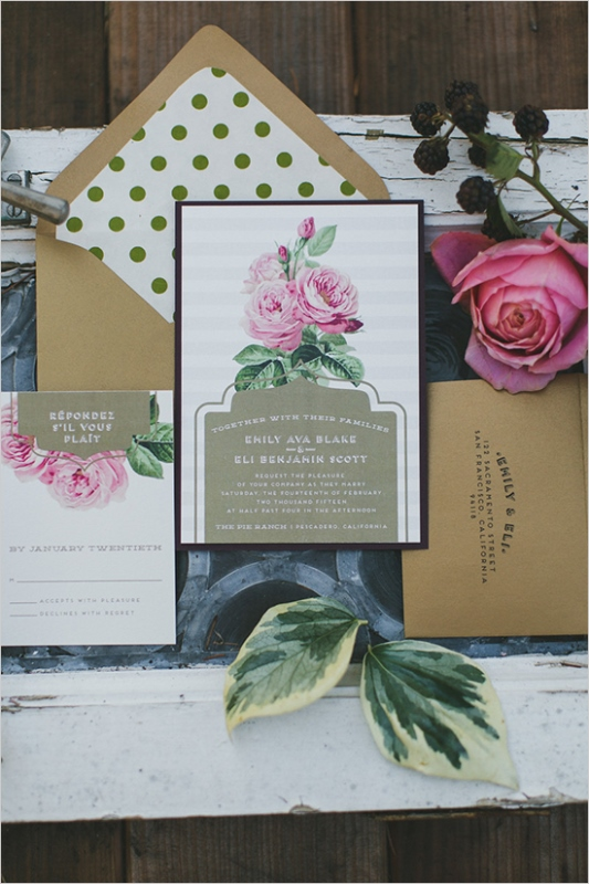 Picture Of organic inspired and free spirited summer garden wedding  2