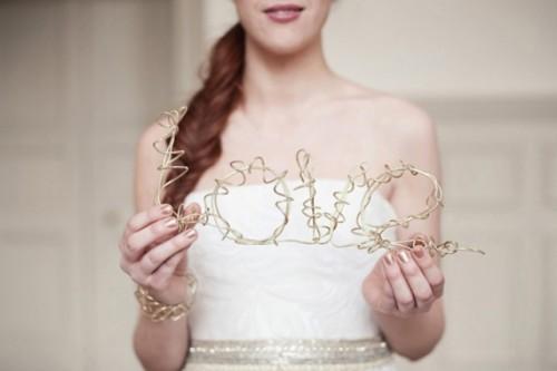 Organic Natural Wedding Shoot With Charming Simplicity