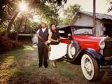 Original Bonnie And Clyde Engagement Session