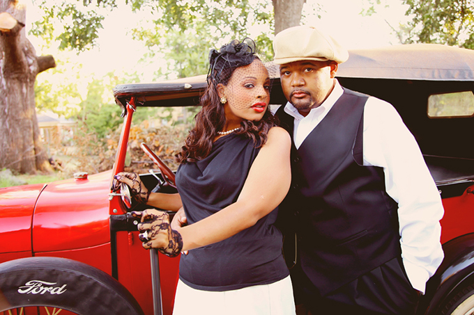 Original Bonnie And Clyde Engagement Session Weddingomania