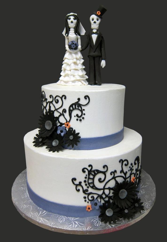 Best Halloween Wedding Cake Ideas Contemporary - Styles & Ideas 2018 ...