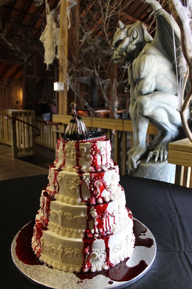 40 Original Halloween Wedding Cakes - Weddingomania