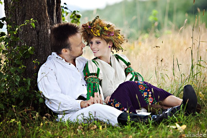 Picture Of pagan inspired wedding in the heart of transylvania  10