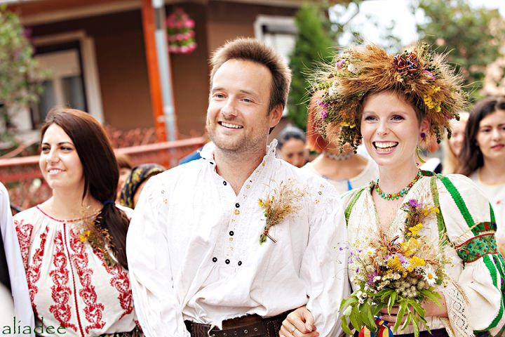 Picture Of pagan inspired wedding in the heart of transylvania  2
