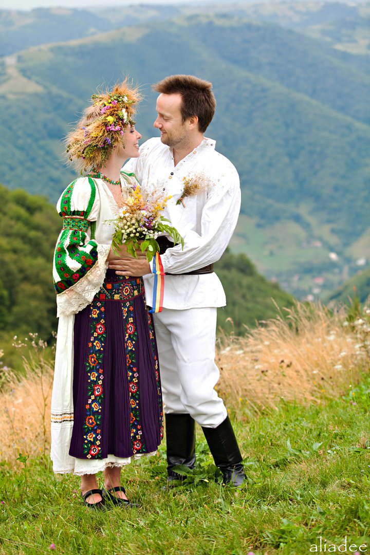 Picture Of pagan inspired wedding in the heart of transylvania  6