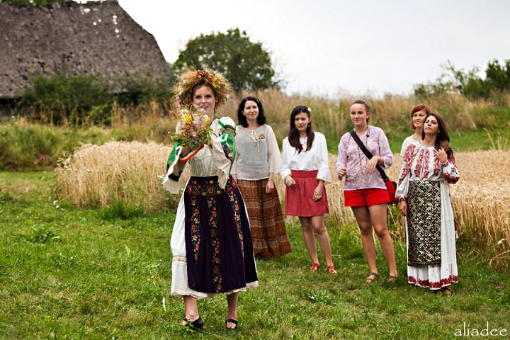 Picture Of pagan inspired wedding in the heart of transylvania  7