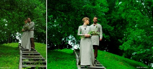 Pagan Summer Lithuanian Wedding In A Sacred Park