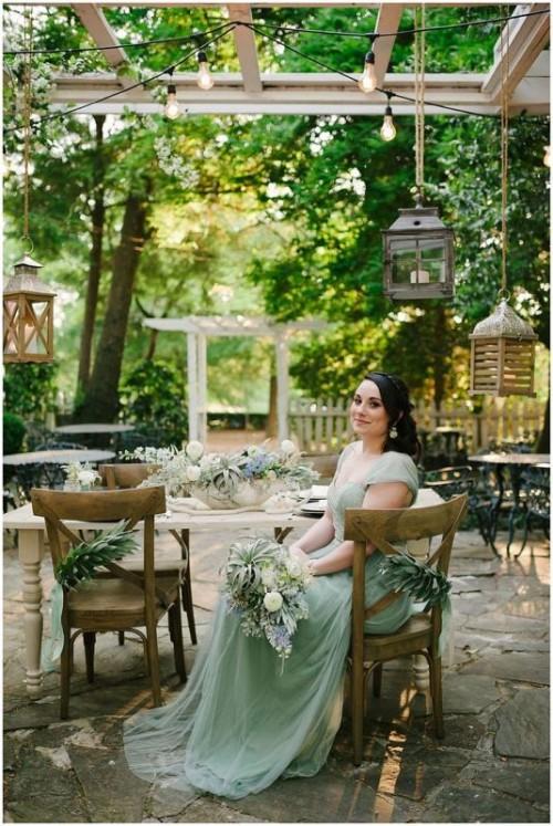 Sea Glass Coastal Chic Wedding Inspiration