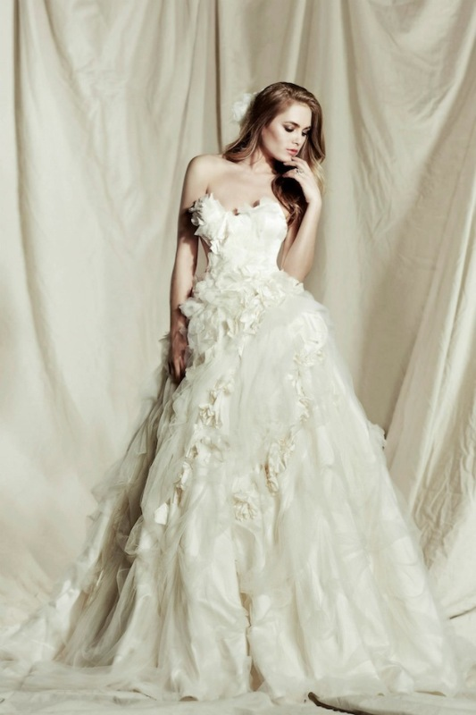 Picture Of Pallas Coutures Stunning Destinne Wedding Dress Collection