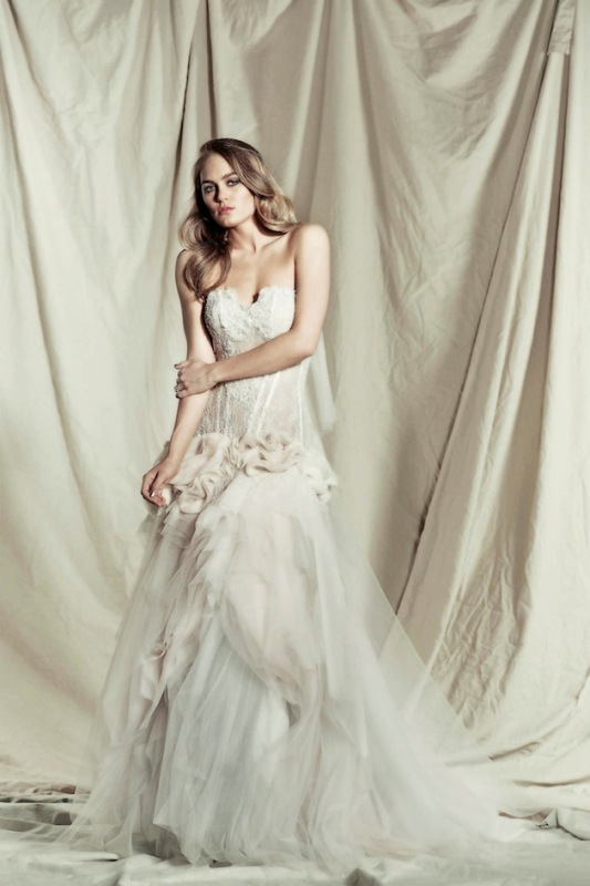 Pallas Coutures Stunning Destinne Wedding Dress Collection