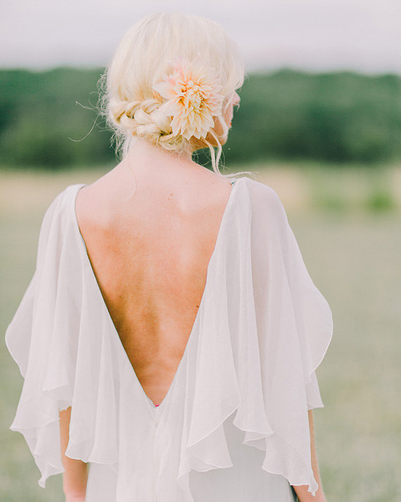 Peach Farm Wedding Shoot With Fall Touches