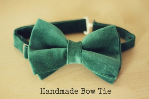 Perfect DIY Groom's Bow Tie