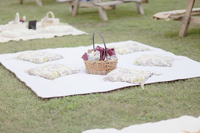 Picture Of picnic themed rehearsal dinner 19 cozy reception ideas  18