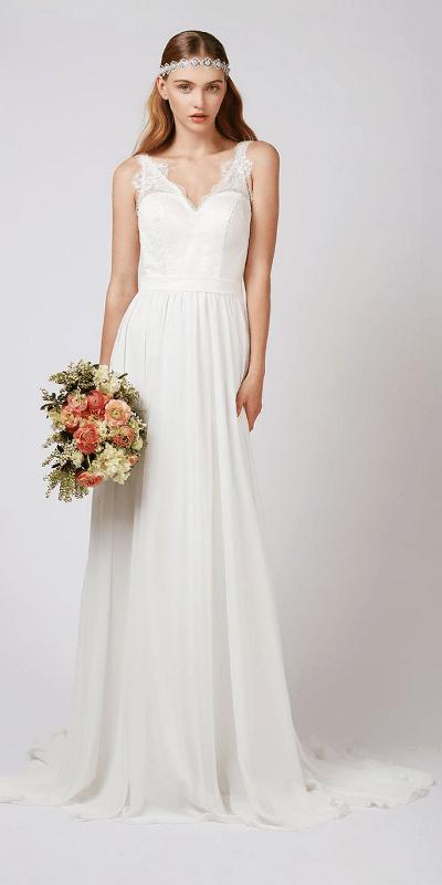 Contemporary Wedding Dresses 4 New Playful Contemporary Wedding Dresses