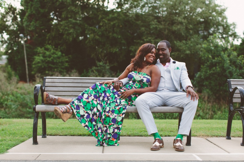 Picture Of playful fun and ccolorful engagement shoot  13