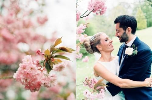 Playful Pink English Wedding In Somerset