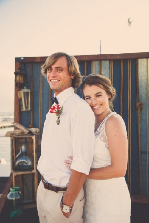 Preppy Nautical Wedding Shoot On A Yacht
