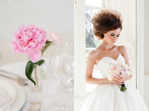 Pretty And Feminine Miss Dior Inspired Modern Bridal Shoot