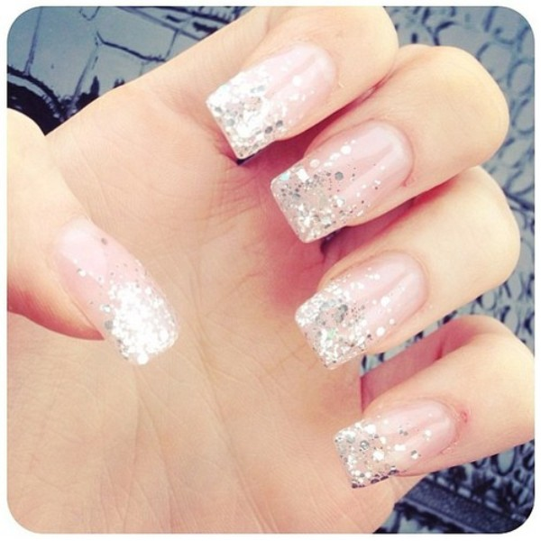 Picture Of Pretty And Pink Trendy Wedding Nails Ideas