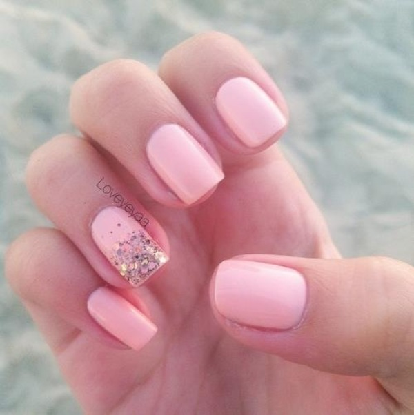Pink Wedding Nail Art Best Nail Design Art 2015