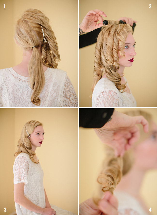 Pretty Diy Soft Glam Hairstyle For A Bride