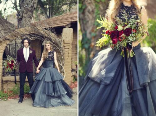 Hauntingly Beautiful Sleepy Hollow Wedding Inspiration