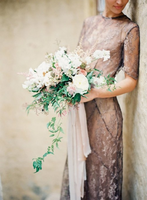 Refined Fall Mocha-Inspired Wedding Shoot