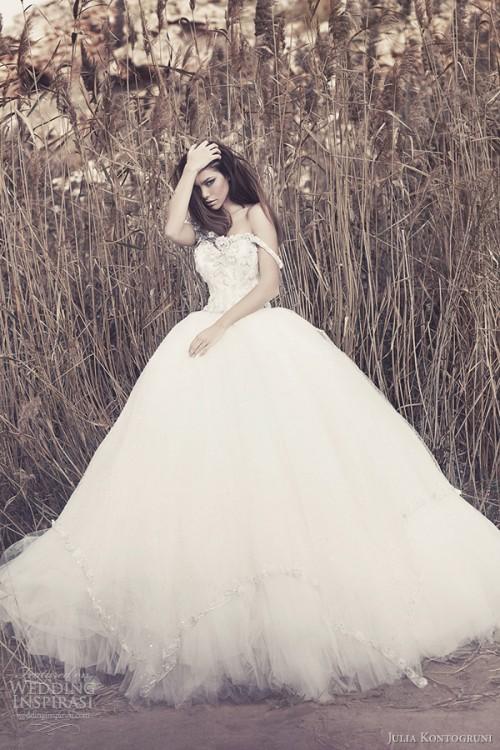 Refined Julia Kontogruni Wedding Dresses Collection
