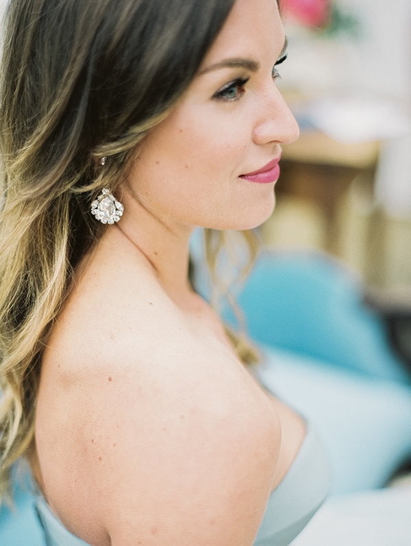 Picture Of refined nautical shoot with a stunning blue wedding dress  18