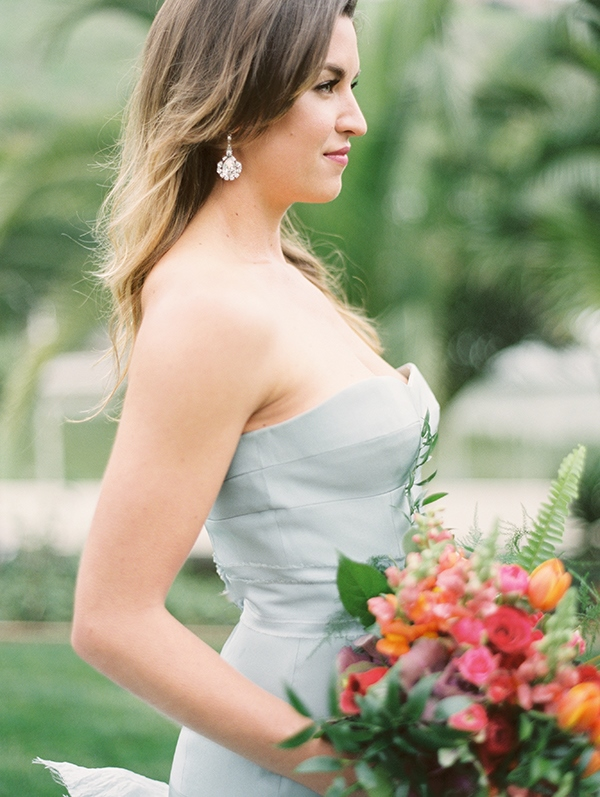 Picture Of refined nautical shoot with a stunning blue wedding dress  5