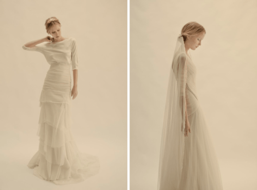Relaxed And Bohemain Cortana Wedding Dresses