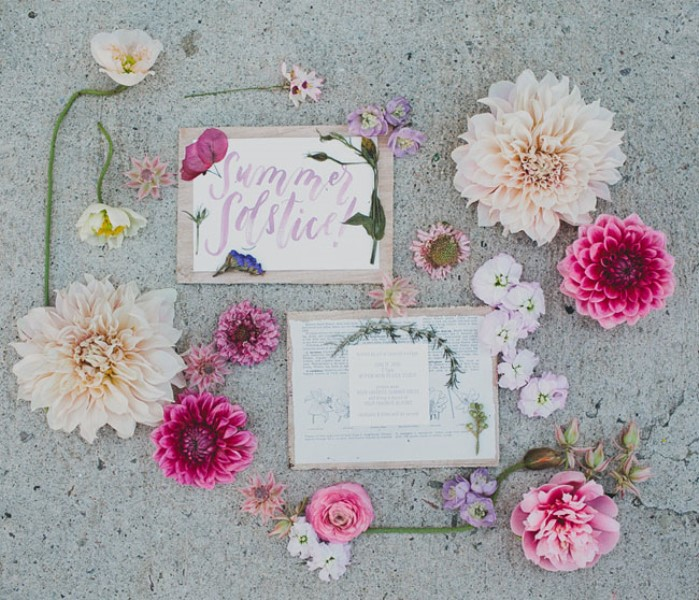 Picture Of relaxed and boho inspired summer flower bridesmaids party  2