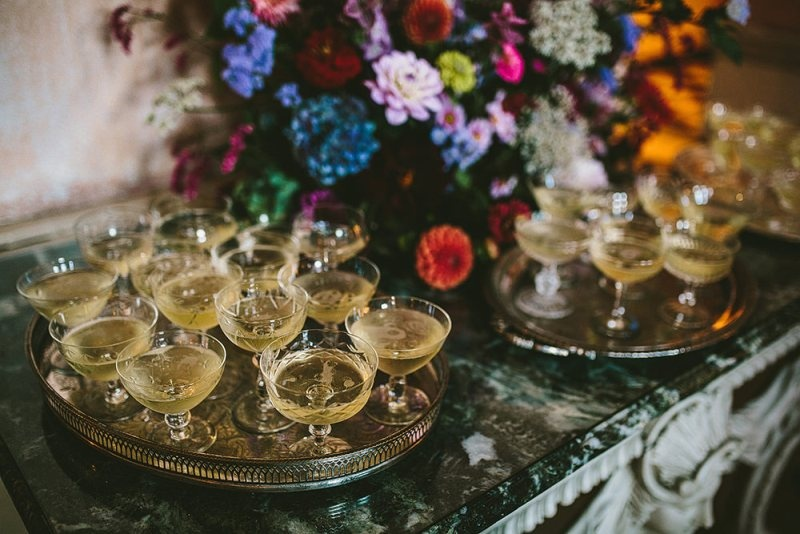 Picture Of relaxed and colorful wedding inspiration filled with flowers  12