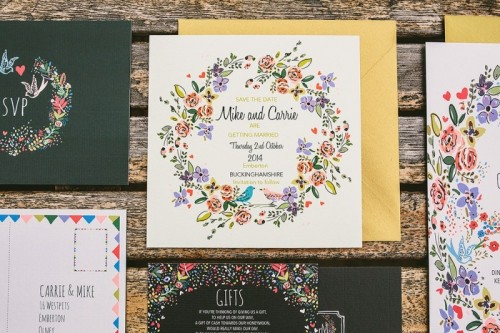 Relaxed And Colorful Wedding Inspiration Filled With Flowers