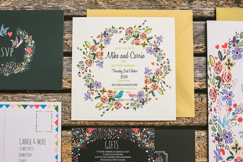 Picture Of relaxed and colorful wedding inspiration filled with flowers  17