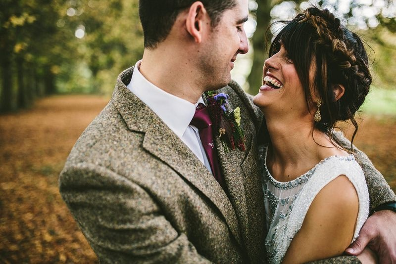 Picture Of relaxed and colorful wedding inspiration filled with flowers  9