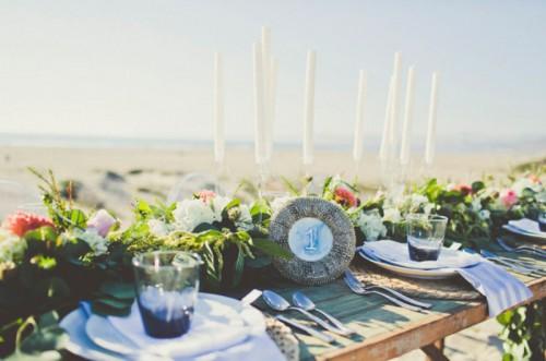 Relaxed And Feminine Seaside Bridal Shower Inspiration