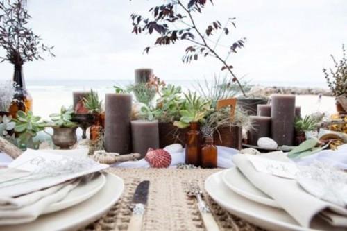 Relaxed Boho Chic Beach Wedding Ideas