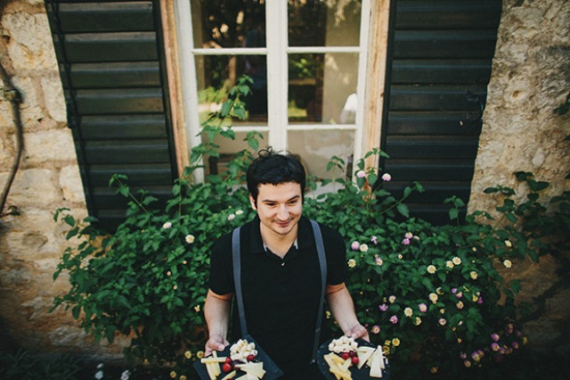 Picture Of relaxed destination garden wedding in croatia  12