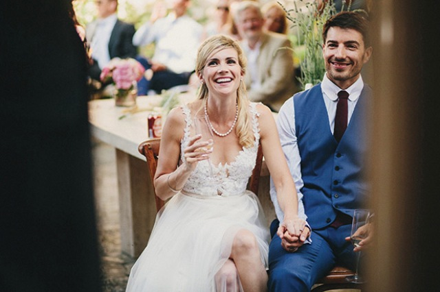 Picture Of relaxed destination garden wedding in croatia  15