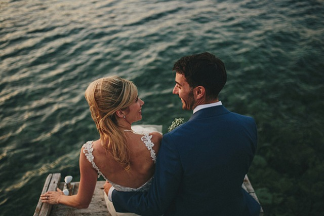 Picture Of relaxed destination garden wedding in croatia  17