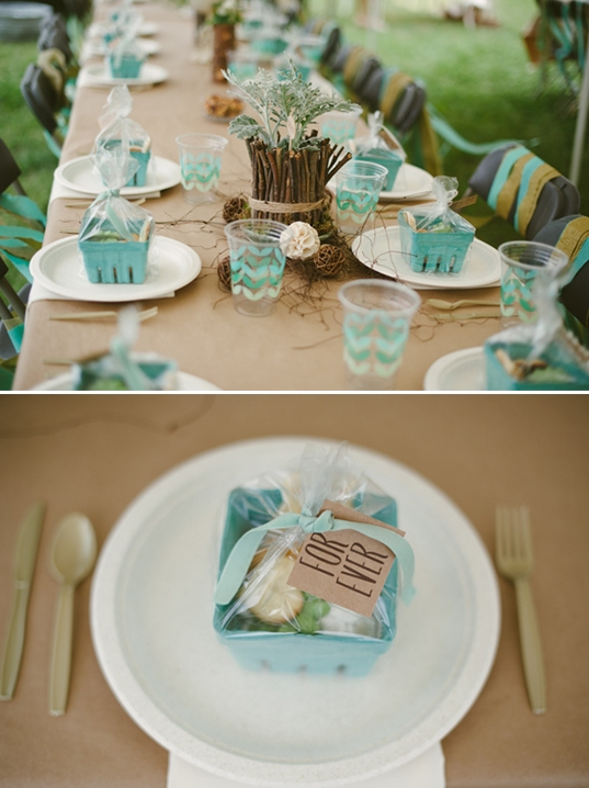 Relaxed Diy Outdoor Rustic Bridal Shower