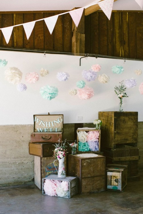 Cool Relaxed Outdoor Rustic Vintage Wedding