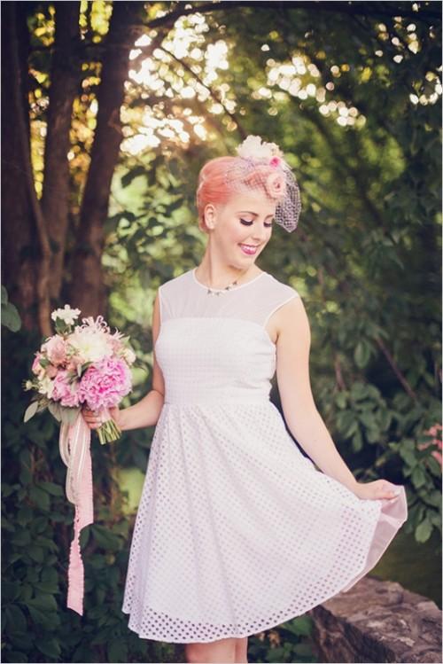 Retro 50s Wedding Inspiration At Summer Amusement Park