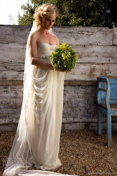 Retro Chic Wedding Dresses By Kate Halfpenny