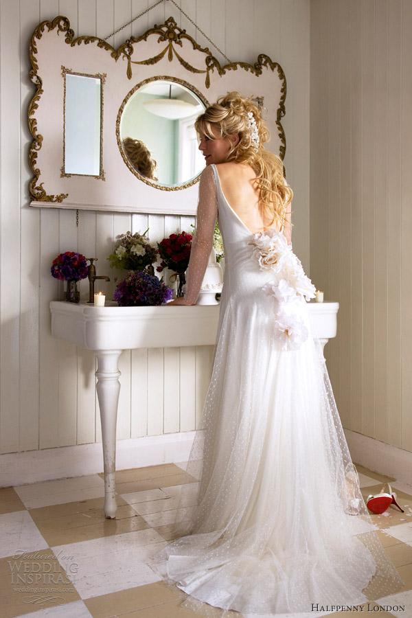 Retro Chic Wedding Dresses By Kate Halfpenny