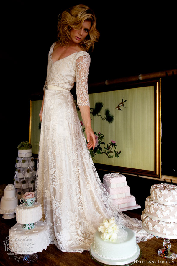 Old Fashioned Wedding Dresses With Lace 54 Cool Retro Chic Wedding Dresses
